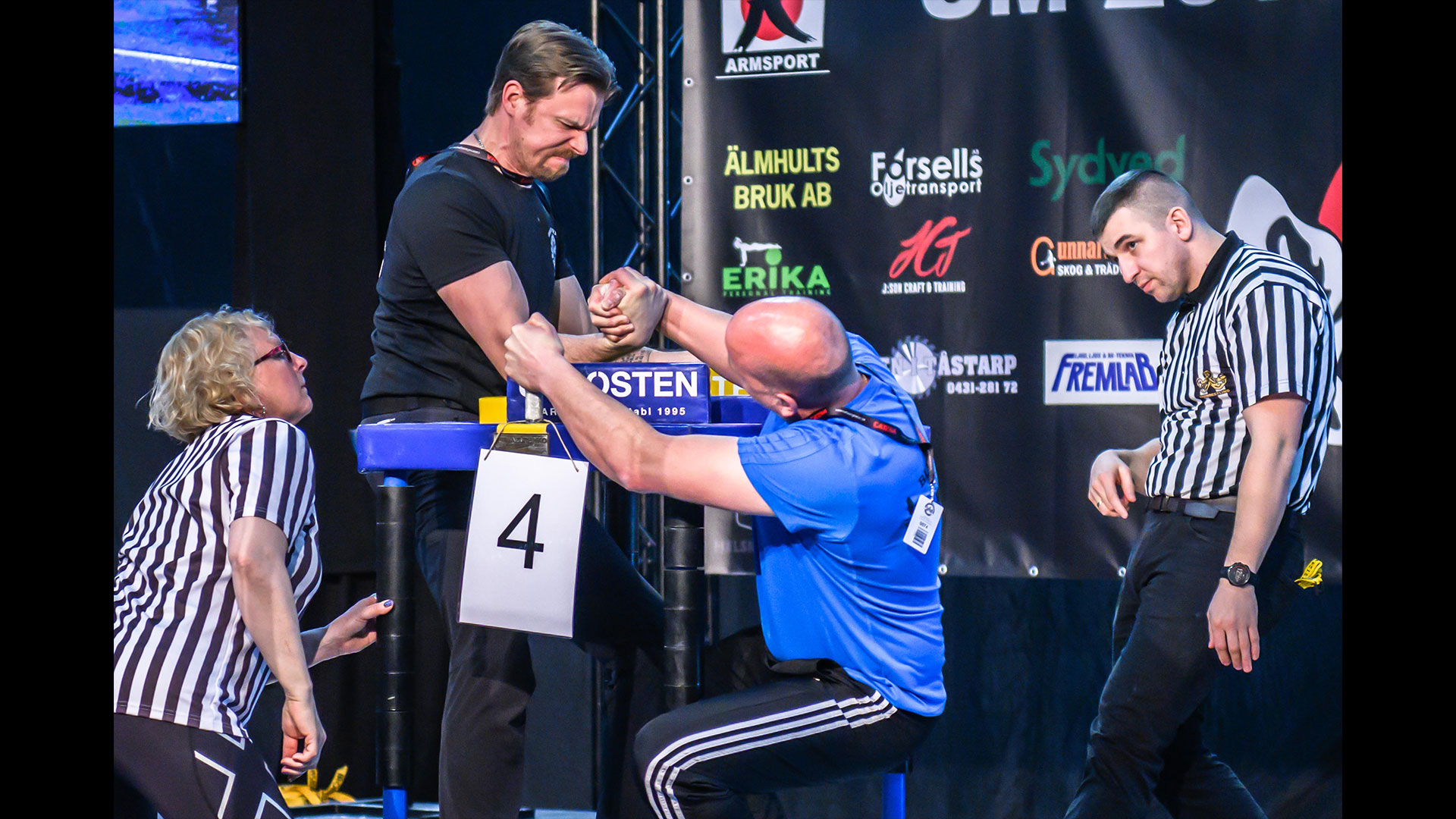 1 SM möte i armbrytning - Torsten Bynke