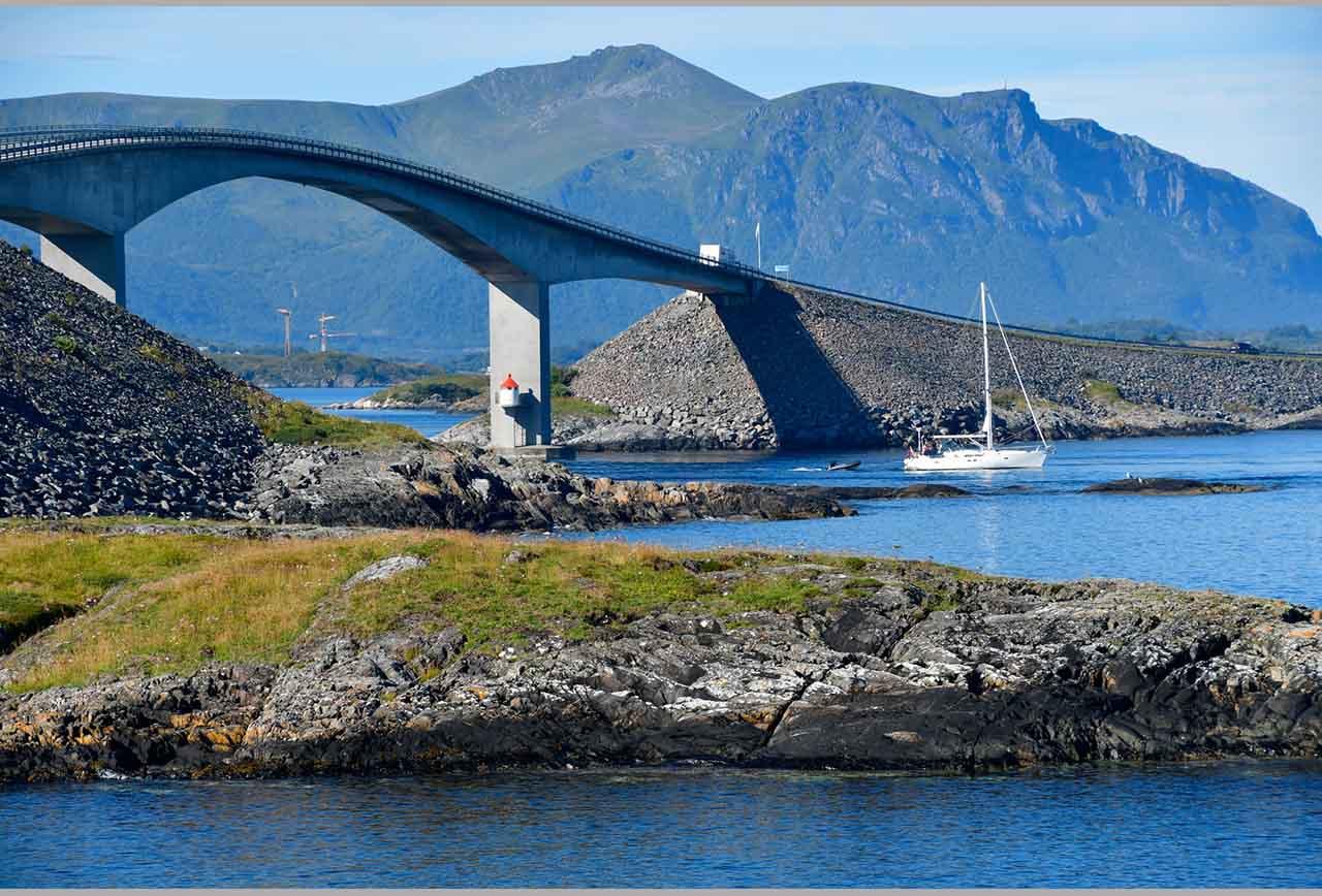 1 Atlanterhavs vägen i Norge - Birgitta Alm-Schnipper